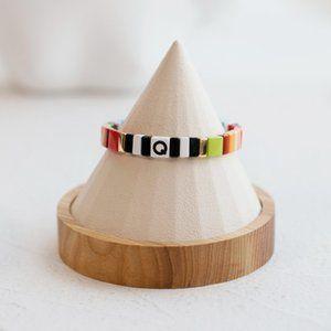 Roxanne Assoulin Alphabet Soup Bracelet - 'Q'